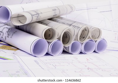 Paper blueprint images stock photos vectors shutterstock architectural plans of the old paper tracing paper malvernweather Images