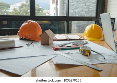 Tracing paper images stock photos vectors shutterstock architectural plans work apace top view architectural project blueprintspencil and divider compass malvernweather Images