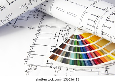 Architectural projects snd  color guide
