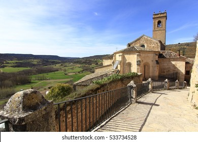 Architecture of the ancient village of Brihuega, Guadalajara, Spain