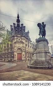 Architecture of Antwerpen, Belgium