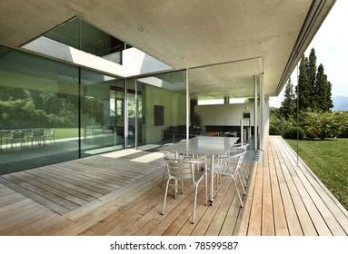 Architecture of Attilio Panzeri, Modern house outdoors