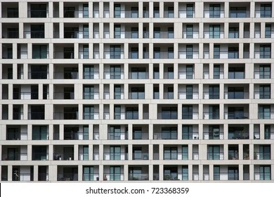 architecture background, flats, residential building