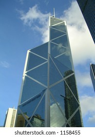 Architecture Bank of China Tower in Hong Kong