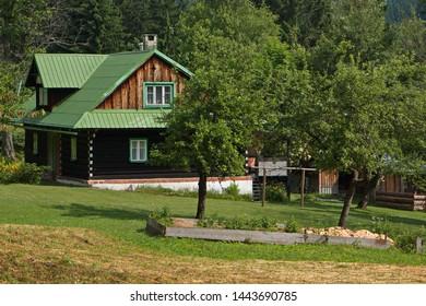 Architecture in Beskydy in Czech republic
