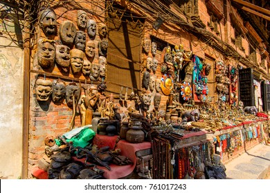 Architecture of Bhaktapur,  an ancient Newar city in the east corner of the Kathmandu Valley, Nepal, UNESCO World Heritage Site