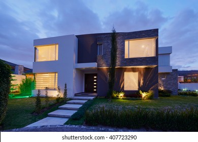 Architecture: Big modern House