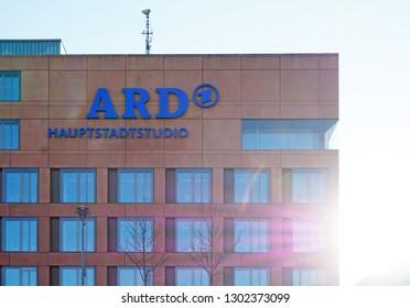 architecture, building facade, Berlin, ARD
