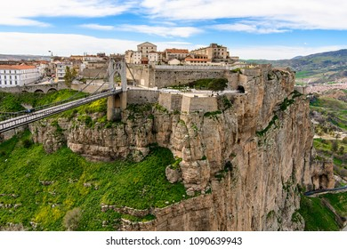 Architecture of Constantine, the capital of Constantina Province, north-eastern Algeria