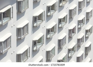 Architecture detail of a pattern of Windows.