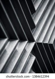 Architecture details Metal texture Oblique line Geometric Abstract background