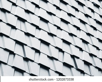 Architecture details trapezoid wall pattern geometric Abstract background