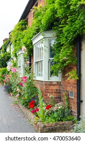 Architecture full of flowers in England