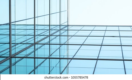 architecture of geometry at glass window