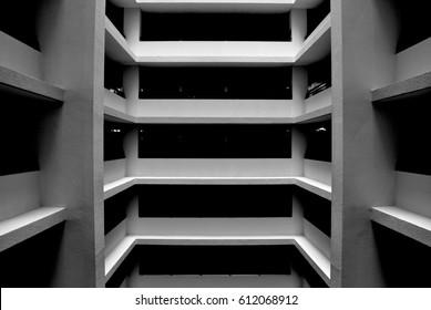 architecture Graphic Monochrome