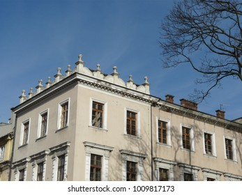 Architecture in the historic centre of Krakow