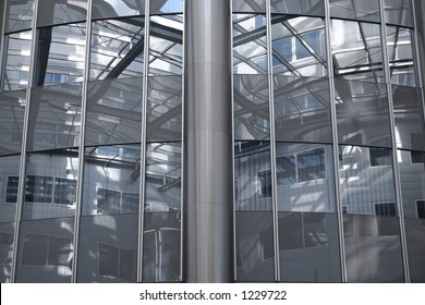 Architecture: Inside of a skyscraper (Vienna / Austria)