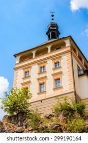 Architecture of Karlovy Vary, Czech Republic.