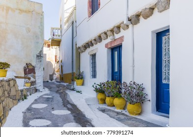 Architecture in Leros island, Dodecanese, Greece