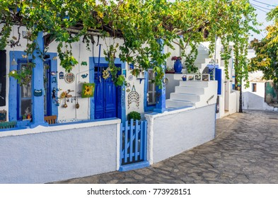 Architecture in Lipsi island, Dodecanese, Greece