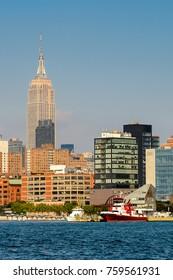 Architecture of Manhattan, New York, NY, United States of Americs