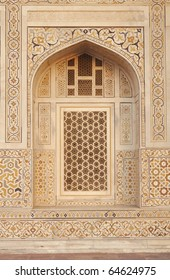Architecture with marble work