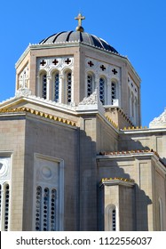 Architecture of the Metropolitan Cathedral of Athens, Greece