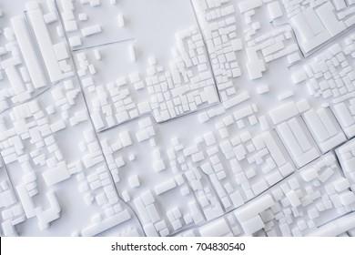 Architecture Model Urban cityscape concept design