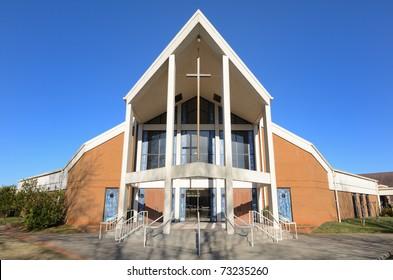Modern Church Building Hd Stock Images Shutterstock