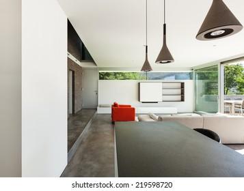 Architecture modern design, interior, living room