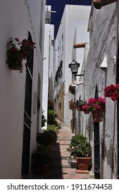 Architecture of Mojacar Village, Andalusia, Spain