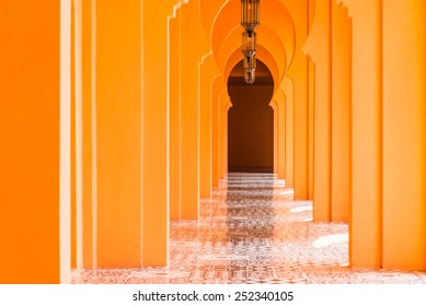 Architecture morocco style - vintage effect pictures