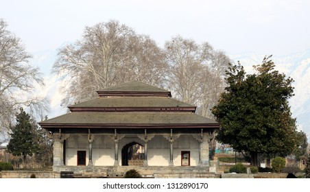 Architecture old style gate building Kashmir
