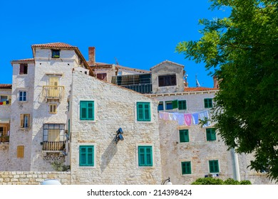 Architecture of the Old Town of Sibenik, Croatia