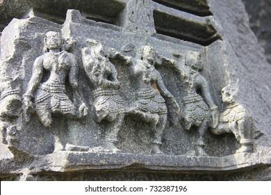 architecture on warangal fort