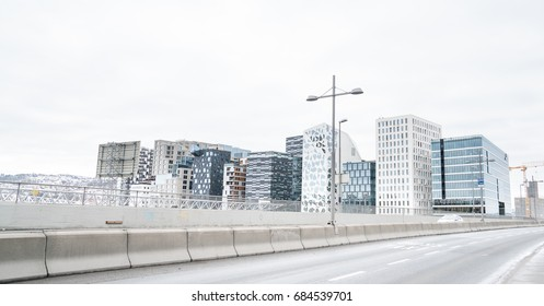 Architecture in Oslo in South Norway