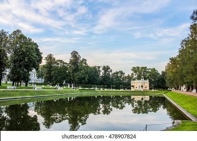 Architecture Park in Pushkin