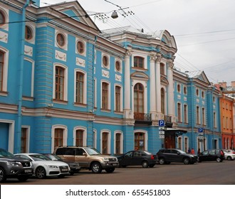 Architecture of Saint Petersburg, Russia - June 2016