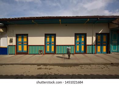 Architecture in Salento in Colombia