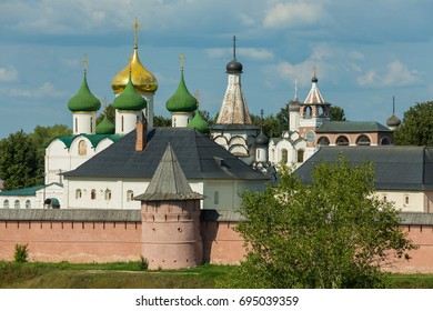 Architecture of the Spaso-Evfimiev monastery in Suzdal