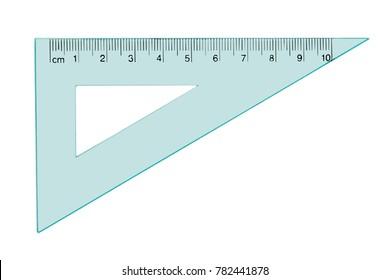 Architecture square / geometry ruler