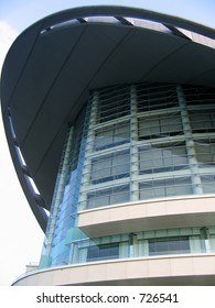 Architecture structure of Hong Kong Convention and Exhibition Centre