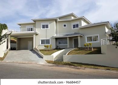 An architecture theme: Home facade