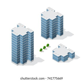 architecture of urban construction