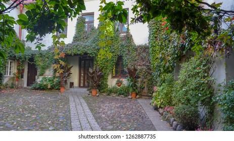 Architecture of Vilnius, Lithuania beautiful autumn