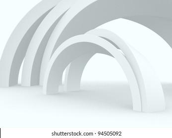 Architecture Wallpaper - 3d render
