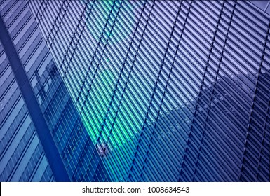 architecture with window building pattern for background .