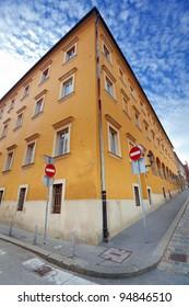 architecture in Zagreb, Croatia
