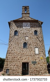 Archive building in the city of Sovana (Tuscany, Italy)