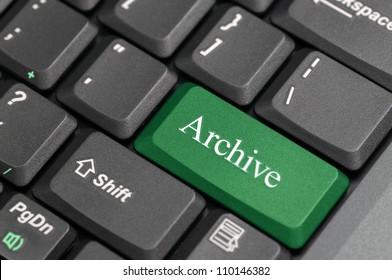 Archive on keyboard